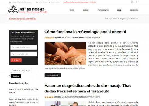 Página web ATM blog