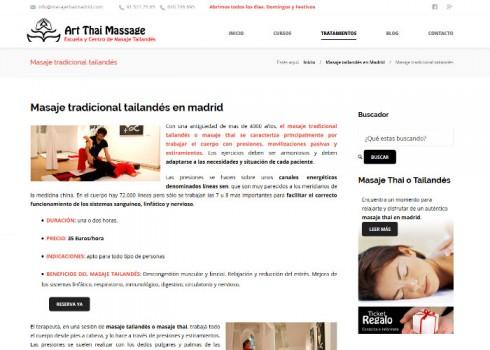 Página web ATM servicio